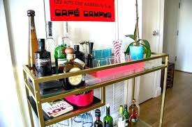 bar furniture laptop table turned into classy gold cart outdoor stools ikea drink