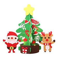 Amazonde Rwindg Weihnachten Vlies Diy Weihnachtsbaum