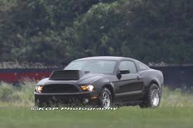 Spy Shots: Ford Mustang dragster mule caught brandishing ...