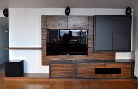 wall mounted tv cabinet nz entertainment unit fit out by mano