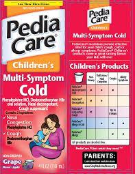 Pediacare Childrens Multisymptom Cold Dextromethorphan