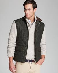 Best 25+ Barbour gilet ideas on Pinterest | Barbour quilted jacket ... & A handsome quilted vest makes an excellent companion on those in-between  days, when. Barbour GiletBarbour MensMen ... Adamdwight.com