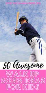 Clever baseball walk up songs. 50 Of The Best Walk Up Songs For Baseball Players That Baseball Mom