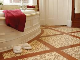 Stone Tile Bathroom Floors | HGTV