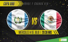 México vs Guatemala: Dónde ver y ...