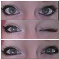 tutorial in simple makeup alternative scene wing liner gray eyes