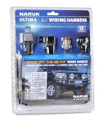 narva ultima l e d driving light harness ultima l e d driving light harness