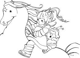 ⭐ free printable rainbow dash coloring book. Coloring Pages Rainbow Brite Coloring Home
