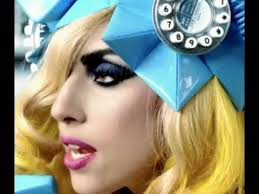 lady a telephone video makeup