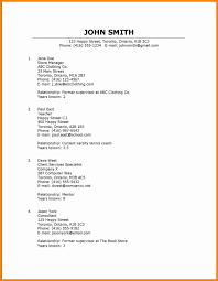Examples Of References For Resume 100 how to list a reference resume type 86