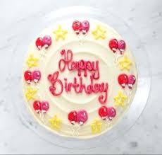 Birthday Cake Images Birthday Balloons Cake Vanilla Top Birthday