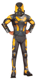 Kids Ant Man Yellow Jacket Deluxe Costume | BuyCostumes.com