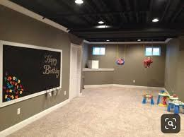 low basement ceiling exposed