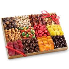 Gift Tray Decoration Golden State Fruit Grand Fruit Nuts and Sweets to Share Tray Gift 47