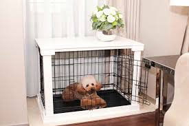 Epic Dog Crate Nightstand 96 on Interior Decor Home with Dog Crate  Nightstand