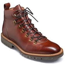 barker glencoe boots mens hiking cherry grain