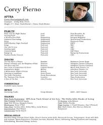 Acting Resume - Solarfm.tk