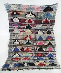 kelim boucherouite rug moroccan rag rug