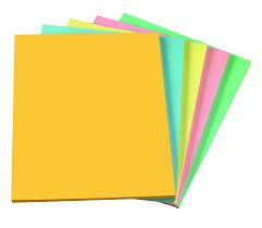 Amazon Com Staples Pastels Colored Copy Paper Assorted 8 5 X 11