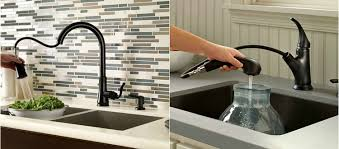 black kitchen sinks and faucets. Because It\u0027s A More Unusual Choice And You Might Not Have Seen One In Action Yet, Here Are Few Beautiful Kitchens Sporting Sharp Black Faucets. Kitchen Sinks Faucets