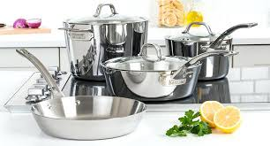 viking cookware viking contemporary 3 ply cookware 7 piece set