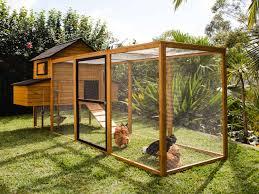 Stylish Chicken Coop Designs Cabana Chicken Coop Run
