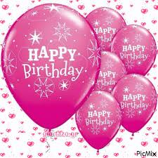 Pink Happy Birthday Balloons Pictures Photos And Images