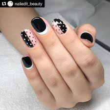 Classic Design Nails 60 Polka Dot Nail Designs For The Season That Are Classic