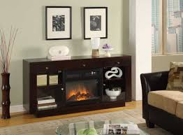 Large Black Tv Stand Furniture Black Wooden Tv Stand With Fireplace Having Storage