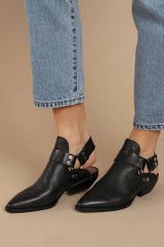 dolce vita dolce vita urban black slingback ankle boots
