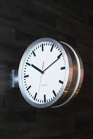 two sided outdoor clock designs