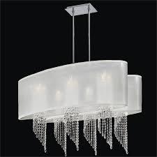 oval shade chandelier spiral crystal light wavelength 616em33 24sp w 7c