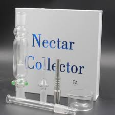 2016 nectar collector kit straw glass pipe water pipes titanium quartz 10mm 14mm 18mm joint oil rigs hookahs nail smoking water pipe nectar collector kit