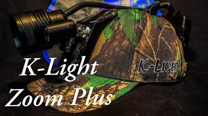 Kelley K Hunting Lights K Light Zoom Plus Coon Hunting Light