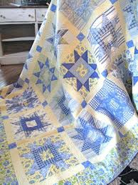 yellow and blue plaid bedding find this pin and more on sew many quilts by rhobrd