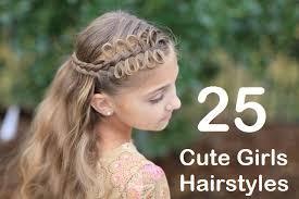 Pretty Girls Hairstyle 25 cute girls hairstyles for medium and long hair lifestylexpert 7417 by stevesalt.us