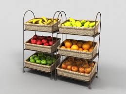 Fruit And Veg Display Stands Classy Fruit Display Stand 322d Model 322ds Max Files Free Download Modeling