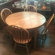 round wood kitchen pedestal table full size of solid tables for dining in and chairs