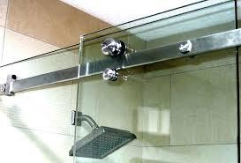 shower door bottom track replacement beautiful sliding glass doors