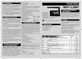 Futaba Receiver Chart Ttxal2 Anylink2 User Manual Tacj2005 Instr Indd Hobbico