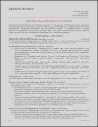 39 Elegant Human Resources Resume Examples Awesome Resume Example