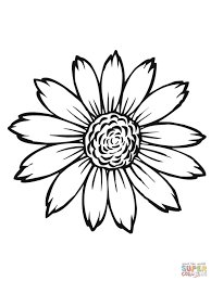 Sunflower Flower Coloring Pages Printable Wedding Stuff Coloring