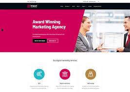 Website Templates Html5 Impressive Impact An SEO Company HTML28 Website Template Ease Template