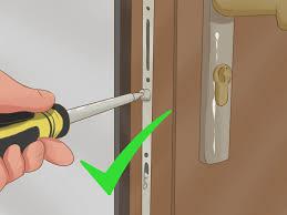 How To Unlock A Locked Door How To Change A Upvc Door Lock 9 Steps With Pictures Wikihow