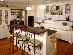 Superb Wonderful Kitchen Island Bar Stools Images Antique White Kitchen With Large  Island Vintage Kitchen Good Ideas