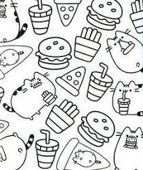Printable Pusheen Coloring Pages Drawings Get Coloring Page