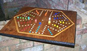 Wooden Aggravation Board Game Aggravation board game made in USA sign d by craftsman large 4