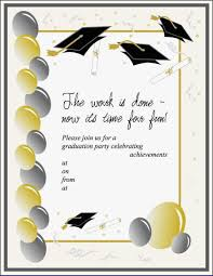 Graduation Templates Word Graduation Ceremony Invitation Template Word At