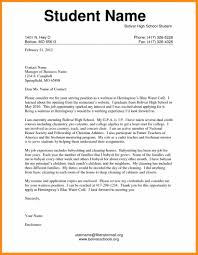Best Ideas Of 5 Application Letter Sample For Students With For