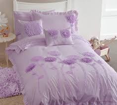 floret purple quilt cover set